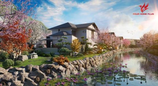 Sun Group ra mắt tổ hợp biệt thự sun onsen village khoáng nóng tại Quảng Ninh