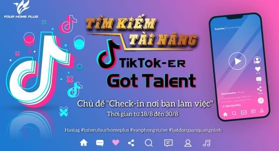 Tìm kiếm tài năng Tiktok-er Got Talent